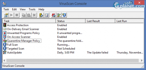 McAfee VirusScan Enterprise 8.8 Patch 4