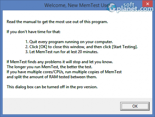 MemTest 4.0