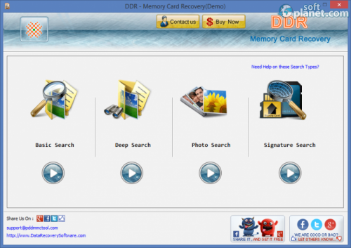Memory Card Recovery Software 5.4.1.2