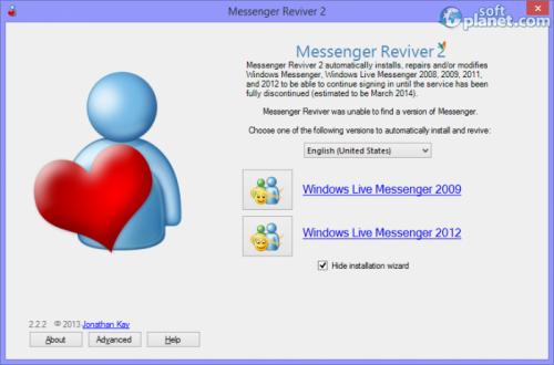Messenger Reviver 2.2.2