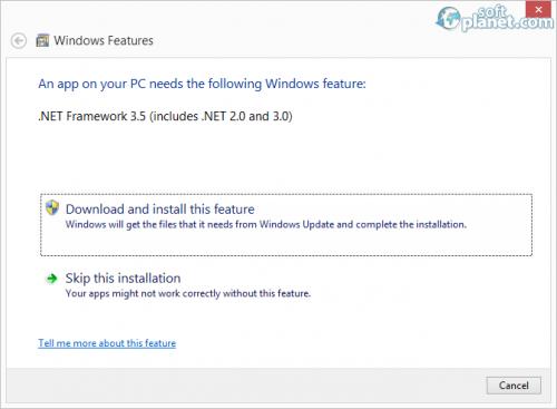 Microsoft NET Framework 3.5 SP1