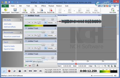 MixPad 3.78