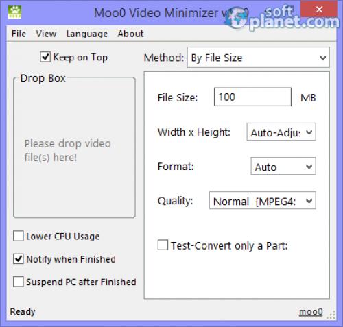 Moo0 Video Minimizer 1.20