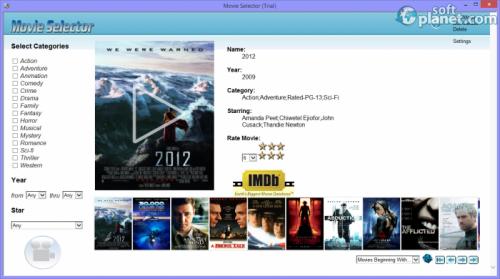 Movie Selector 1.0.0.1