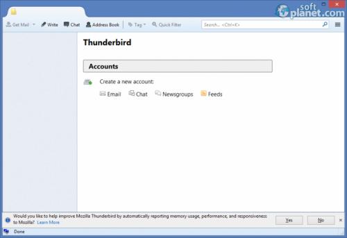 Mozilla Thunderbird Portable Edition 31.5.0