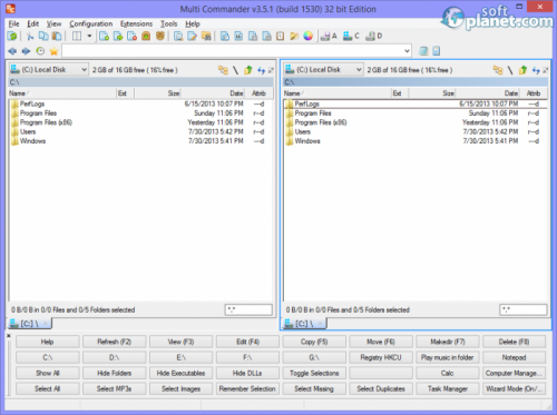 Multi Commander 4.3.1 Build 1702