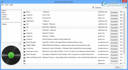 Music Download Center 0.7