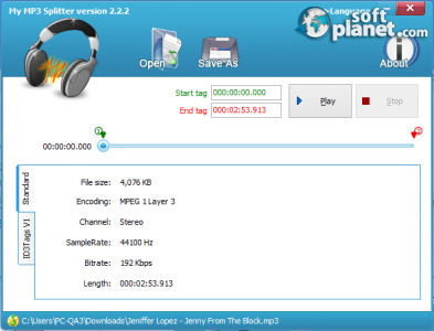 My Mp3 Splitter 2.2.7