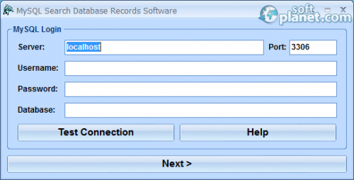 MySQL Search Database Records Software 7.0