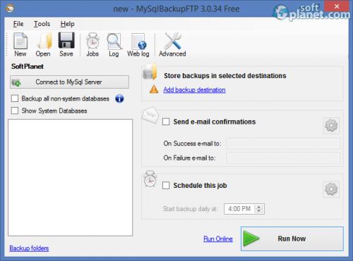MySql Backup FTP 3.0.34 Free