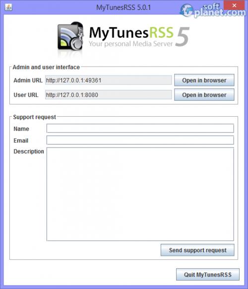 MyTunesRSS 5.0.1