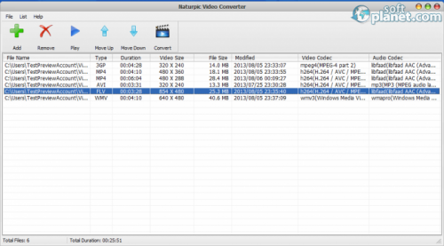 Naturpic Video Converter 6.0
