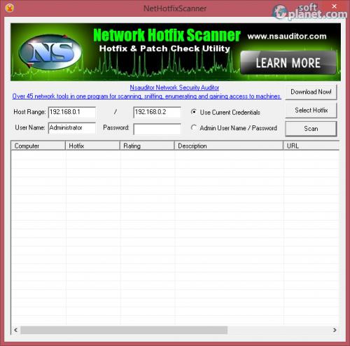 NetHotfixScanner 1.4.7