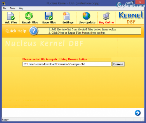 Nucleus Kernel DBF Recovery 5.01