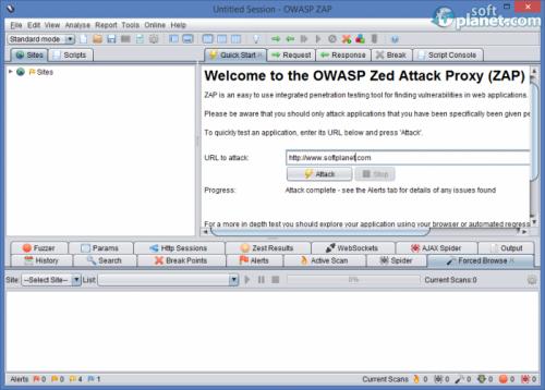 OWASP ZAP 2.2.2