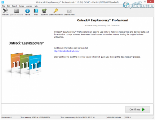 Ontrack EasyRecovery Professional 11.1.0.0