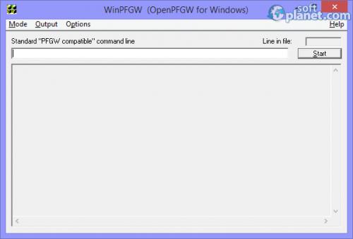 OpenPFGW 3.7.7
