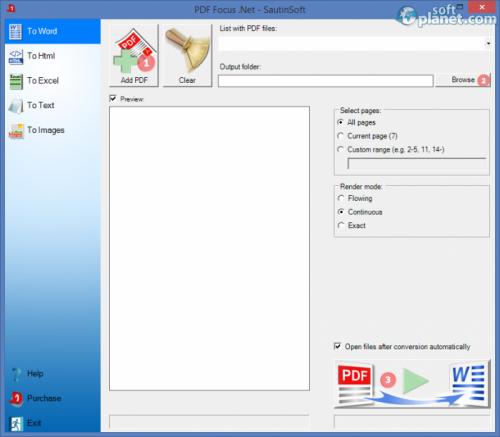 PDF Focus Net 4.0.1