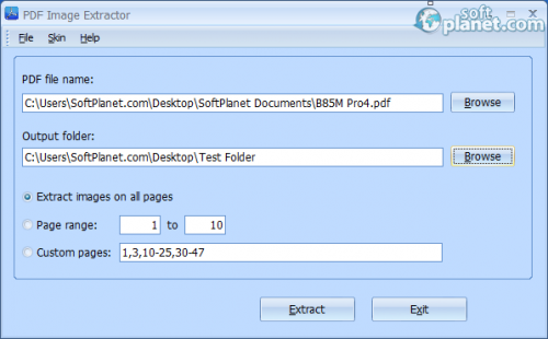 PDF Image Extractor Free 4.0