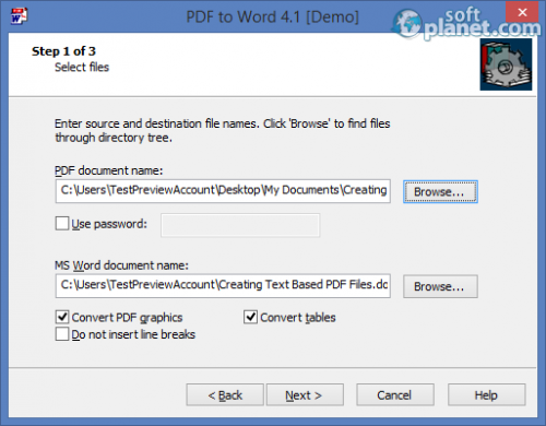 PDF to Word 4.1.0.1