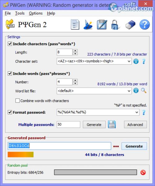 PWGen 2.4.0