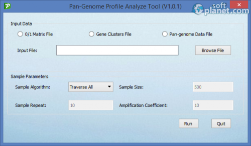 Pan-Genome Profile Analyze Tool 1.0.1