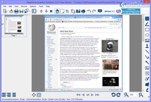 PaperScan Scanner Software Free Edition download for Windows | SoftPlanet