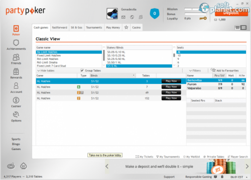 Party Poker 1.0
