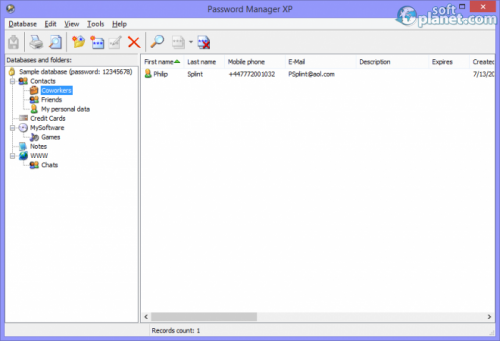 Password Manager XP 3.2.610