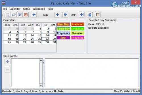 Periodic Calendar 3.4