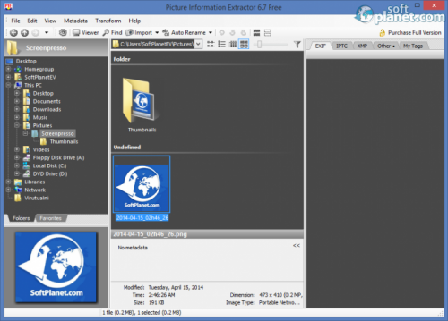 Picture Information Extractor 6.76.9.49