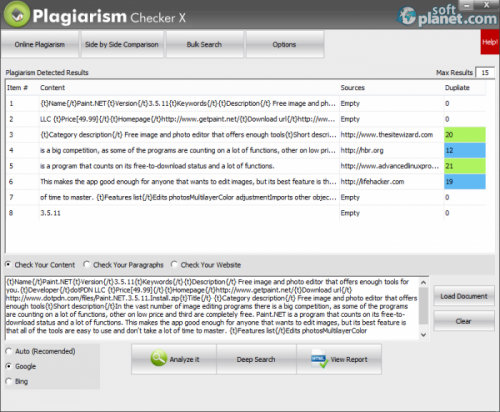Plagiarism Checker X 3.0