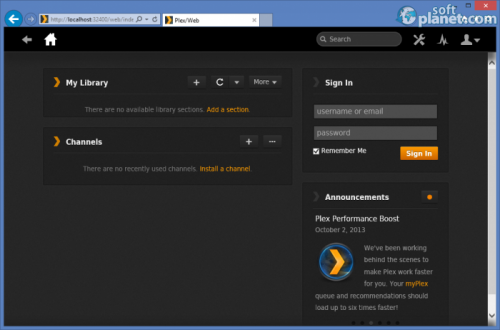 Plex Media Server 0.9.8.10.215