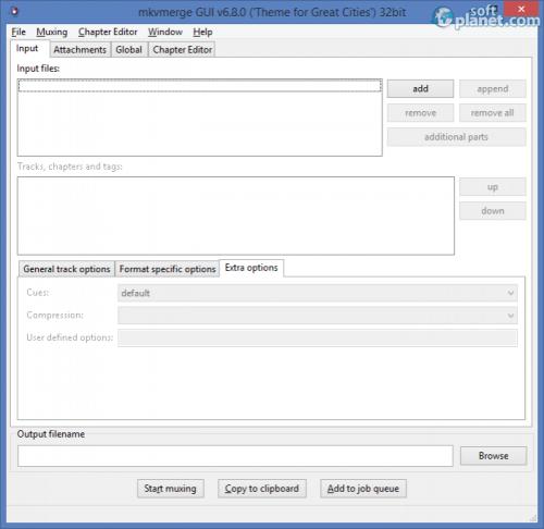 Portable MKVToolnix 6.8.0
