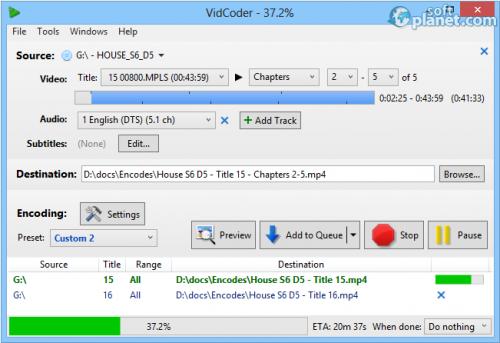 Portable VidCoder 1.4.25