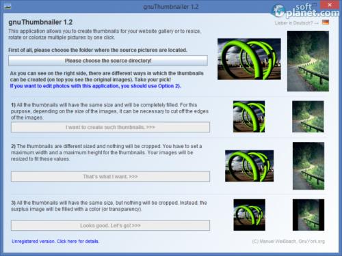 Portable gnuThumbNailer 1.2