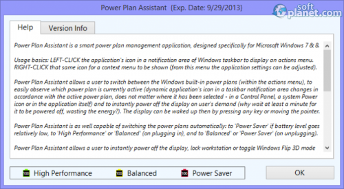 Power Plan Assistant 3.1b