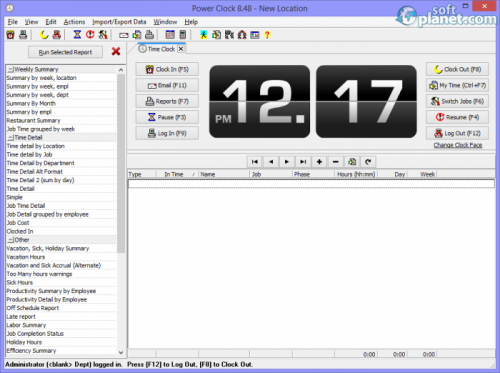 Power Clock 8.4.8.8077