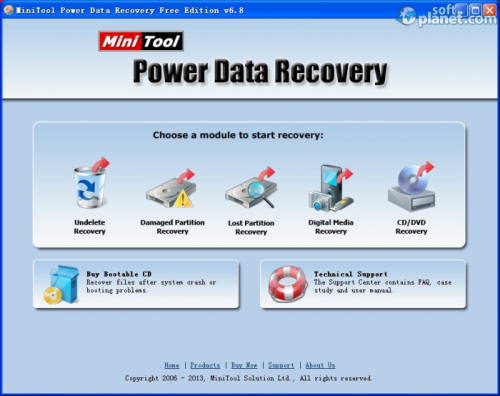 Power Data Recovery 6.8