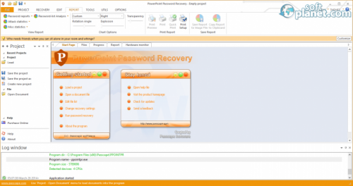 PowerPoint Password Recovery 2.8.3