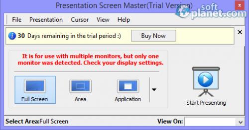 Presentation Screen Master 1.1.4