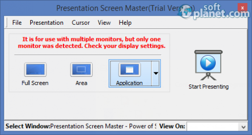 Presentation Screen Master Portable 1.1.4
