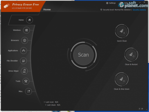 Privacy Eraser Free 2.8.0 Build 639