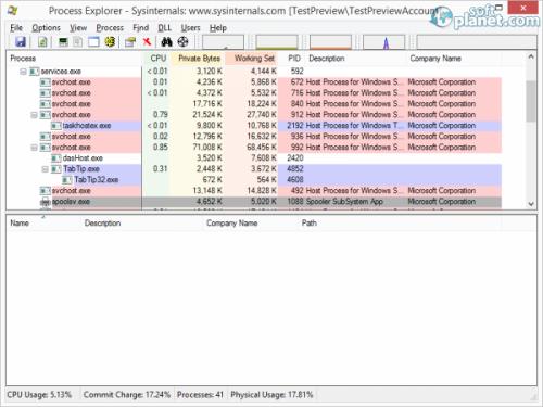 Process Explorer 15.40