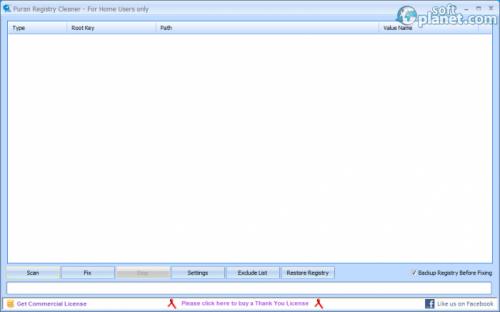 Puran Registry Cleaner 1.4