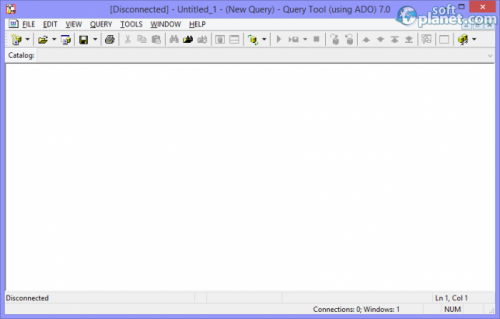 Query Tool (using ADO) 7.0.4.36