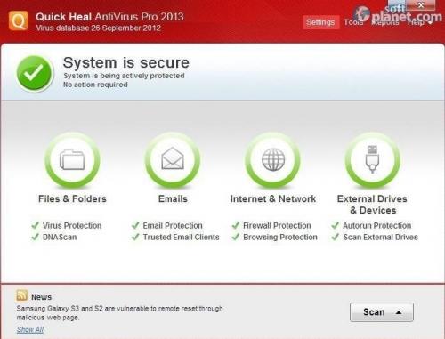 Quick Heal AntiVirus Pro 2013 15.00