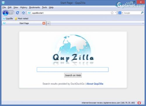 QupZilla 1.8.5