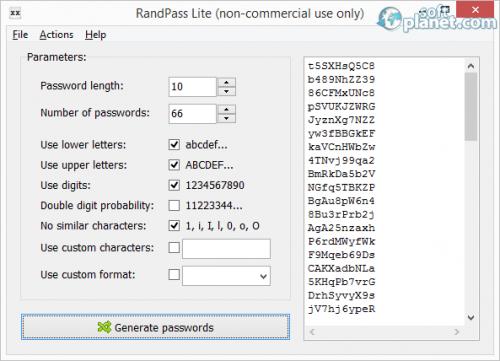 RandPass 1.2.0.0