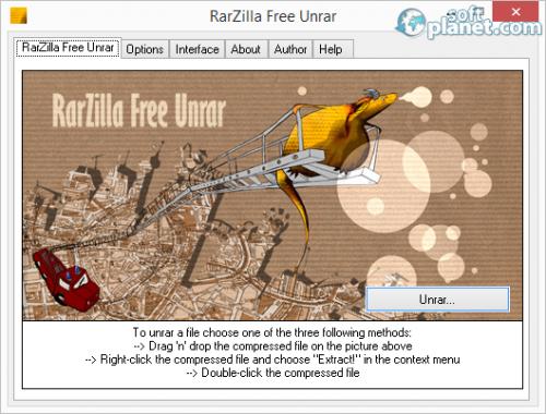 RarZilla Free Unrar 6.50